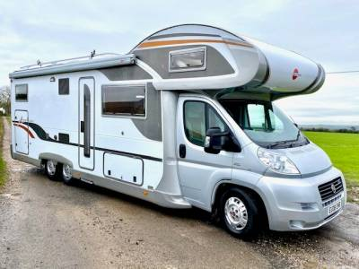 2008 6 Berth Burstner Argos 747-2 g Motorhome for Sale
