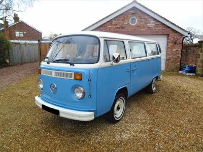 Volkswagen Model T2 2 Berth 4 Travel Seats Camper Van Motorhome For Sale