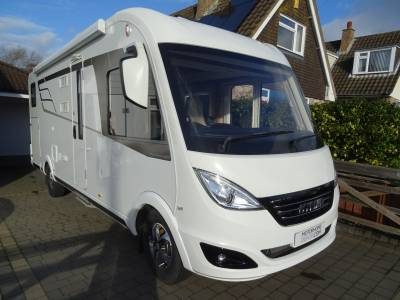 Hymer B678 DL A Class Luxury Motorhome 4 Berth 4 Travelling Seats