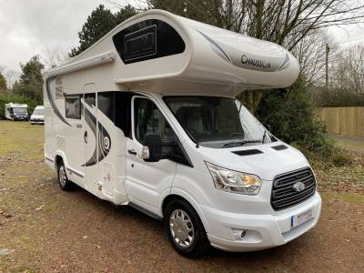 Chausson Flash C646 6 berth Rear Fixed Bunk Bed motorhome for sale