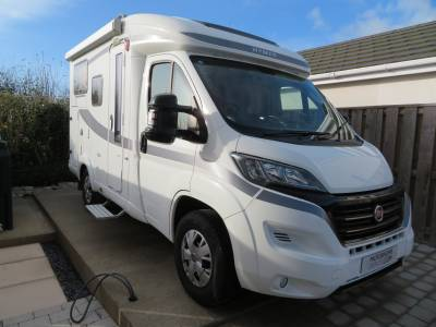 Hymer Van 314, 2017, 3 Berth, 4 Traveling seats