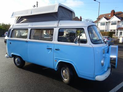 VW T2 Rio Danbury Conversion pop top camper van conversion for sale