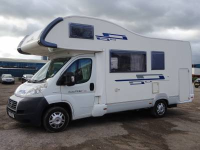 2011 Roller Team - Autoroller 656 6 berth 4 seat belts large garage motorhome for sale