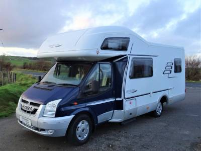 Hymer C642 CL - 2008 - 6 Berth - Rear Lounge - Motorhome for sale