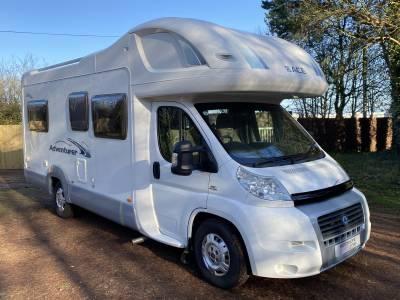 Ace Adventurer 695EL 4 berth U-shaped lounge 4 belt coachbuilt Motorhome for sale