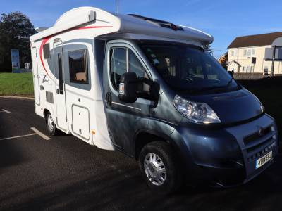 Burstner Ixeo Time 590 Travelling Seats Drop Down Bed Motorhome For Sale