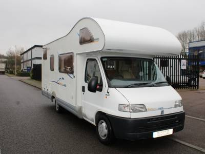 Swift Sundance 630g Large garage 6 berth Rear Fixed Bed motorhome for sale