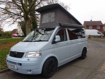 2008 Volkswagon VW T5 CAMPERVAN 2.5 TDI 4 BERTH 4 SEAT BELTS