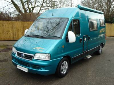IH Savannah Irmao 2 berth Rear lounge campervan motorhome for sale