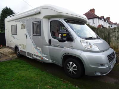 Chausson Welcome 76 Motorhome 3 Berth 4 Travelling Seats