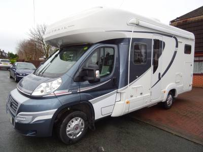 Auto-Trail Apache 632 Rear garage fixed bed coach built lots of extras motorhome for sale