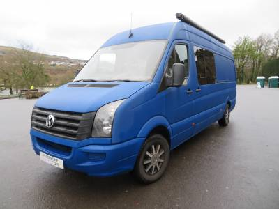 VW Crafter CR35, 4 Berth, 4 Travelling seats