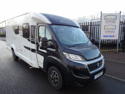Bessacarr Hi-Style 560 2019 4 Berth Rear Fixed Bed Motorhome For Sale