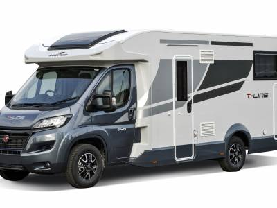 2021 Roller Team T-Line 740 Rear 4 Berth Rear Fixed Island Bed Motorhome For Sale