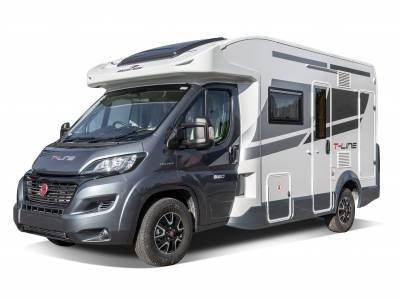 2021 Roller Team T-Line 590 Automatic 4 Berth End Washroom Motorhome For Sale