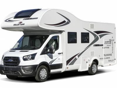 Rollerteam Zefiro Sport Edition Huge Rear Garage 4 Berth Motorhome