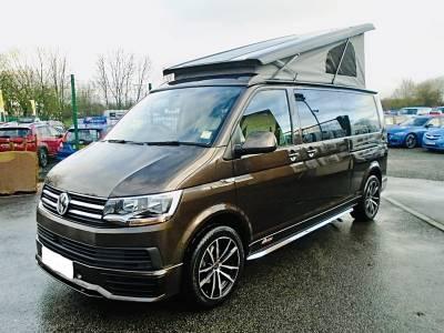 Volkswagen Autohaus Camelot 4 Berth DSG Automatic T6 Camper Van For Sale