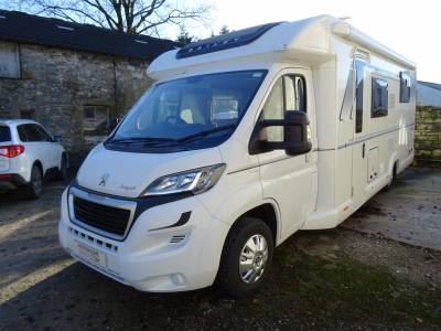 Bailey Autograph 79-4 2017 4 Berth Rear Island Bed Motorhome for Sale