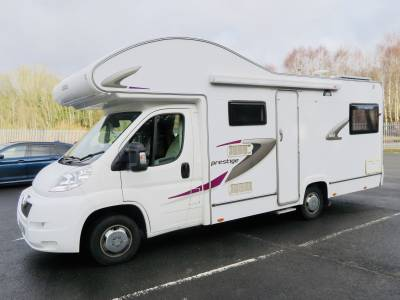 Elddis Autoquest Prestige 6 Berth Rear Lounge Motorhome For Sale