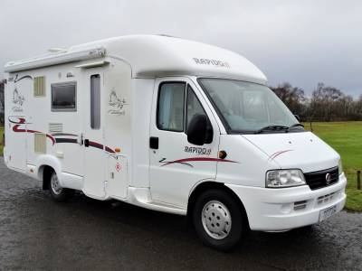 Rapido 763F - 2004 - 3  Berth - Rear Fixed bed Motorhome for Sale