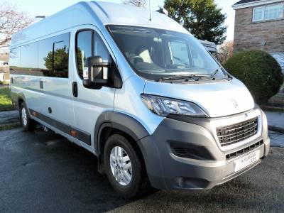 Peugeot Boxer WAV campervan conversion