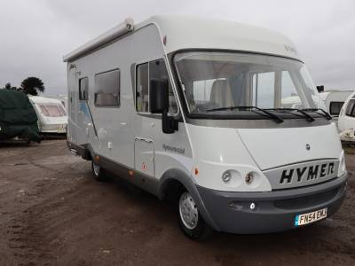 Hymer B544 SL A Class 4 Travelling Seats Motorhome For Sale