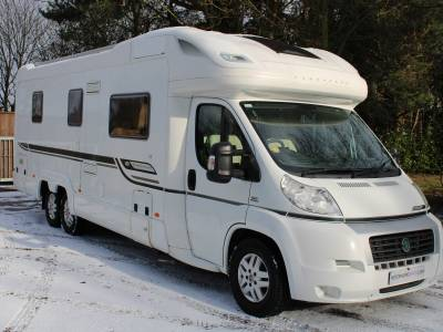Bessacarr E769 Tag 4 berth rear Island bed coachbuilt motorhome for sale