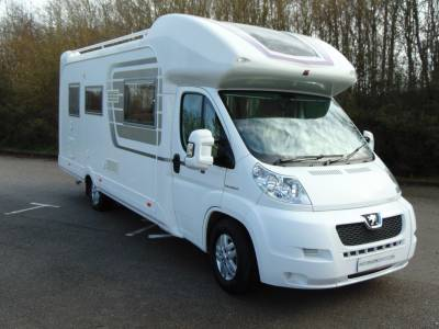 Autosleeper Cotswold 4 berth rear french bed coachbuilt motorhome for sale