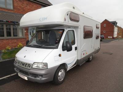 Hymer C594 2004 6 Berth 6 Belts Double Bunks Motorhome For Sale