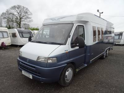 Hobby 750 Delux - 2001 - 4 Berth Fiat Motorhome for sale
