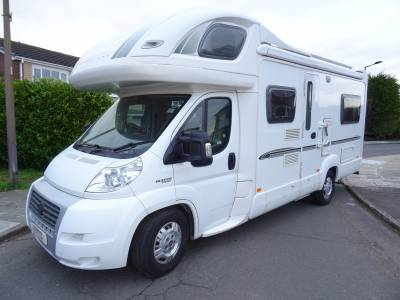 Bessacar E695 rear U shaped lounge 4 berth 4 belt air conditioning motorhome for sale