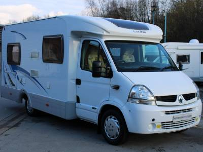Lunar H592 2 berth rear fixed bed coachbuilt motorhome for sale