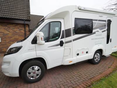 Bessacarr 412, Low-profile, Compact,  2-Berth, 2-Seatbelts, End-kitchen, Motorhome for Sale