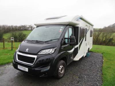 2015 Bailey Autograph Approach 745, 4 Berth, 4 Travelling seats