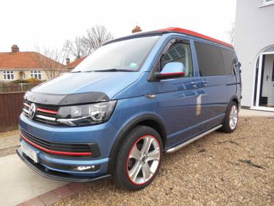 Volkswagen Highline 4 Berth T6 2017 low mileage