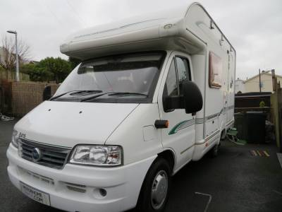 2004 Bessacarr E410, 2 berth, Low mileage,