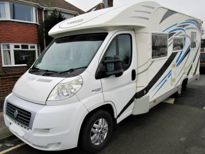 MOBILVETTA P82 4 BERTH FRENCH BED LOW PROFILE 2007 MOTORHOME FOR SALE