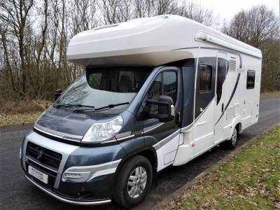 Auto-Trail Frontier Savannah - 2014 - 4 Berth - Fixed rear Beds Motorhome for Sale