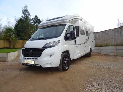 Hymer Tramp T678cl - 2018 - Rear Fixed Bed with Garage