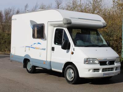 Swift Sundance 530LP 2 berth end kitchen coachbuilt motorhome for sale
