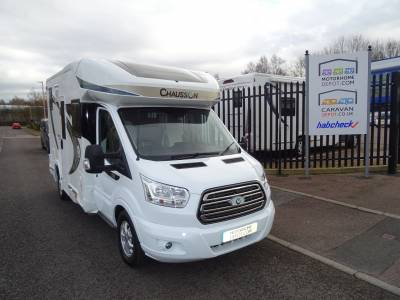 Chausson Welcome 530 4 berth, 4 belts Rear Washroom motorhome for sale
