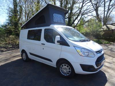 Ford Transit Custom Pop Top Camper Conversion - 2017 - 4 berth
