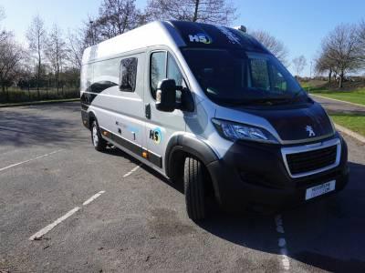 Holeshot Crusader Racevan 2 berth Large rear garage for sale £45,999 plus VAT