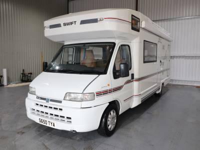 Swift Kontiki 650 Four Travelling Seats Four Berth Motorhome For Sale