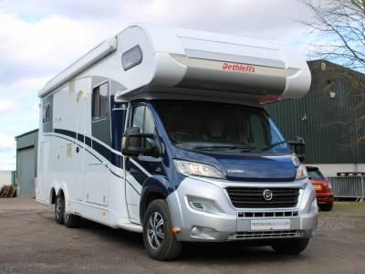 Dethleffs Espirit Comfort A7870-2  6 berth rear fixed bed coachbuilt motorhome for sale