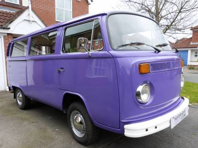 VW T2 Westfalia Bay window campervan
