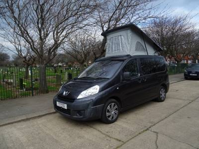 Peugeot Export Teepee Camper Van for sale