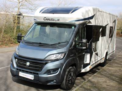 Chausson Welcome 737 4 berth rear fixed beds coachbuilt motorhome for sale