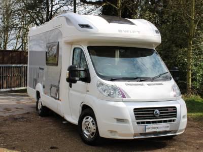 Swift Voyager 630 EK 2 berth low profile end kitchen coachbuilt motorhome for sale