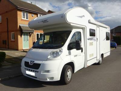 Elddis Autoquest 180 6 Berth 6 Belts Semi Automatic Motorhome for Sale